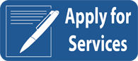 Click on button to apply for services.