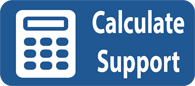 Calculate child support button. Click on it to calculate estimate of child support.