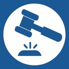 Image of court gavel.