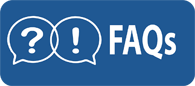 Frequently asked questions button. Click on it to access frequently asked questions.