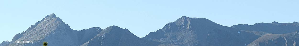 Banner Image of Lake County Mountains
