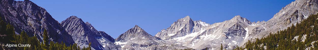 Banner image of Alpine mountain range